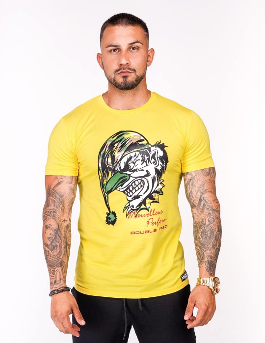 DOUBLE FUN T-shirt Joker Yellow
