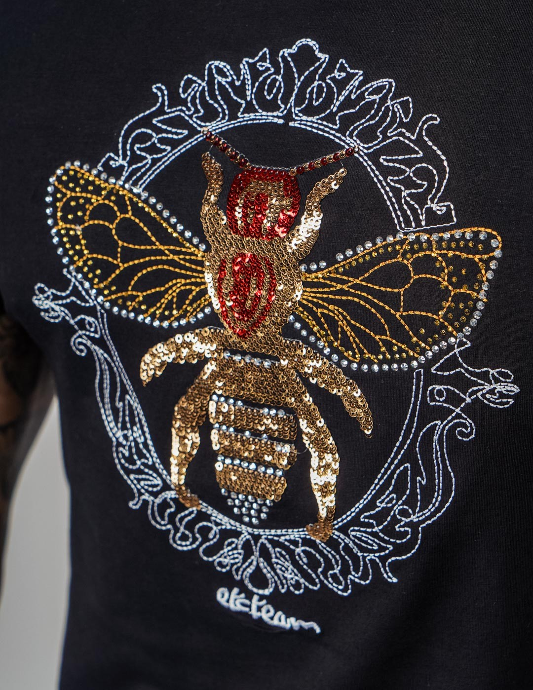 T-Shirt GOLD WASP Black