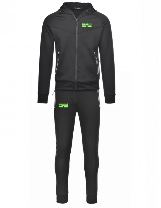 REFLEXERO SPORT IS YOUR GANG Tracksuit Black