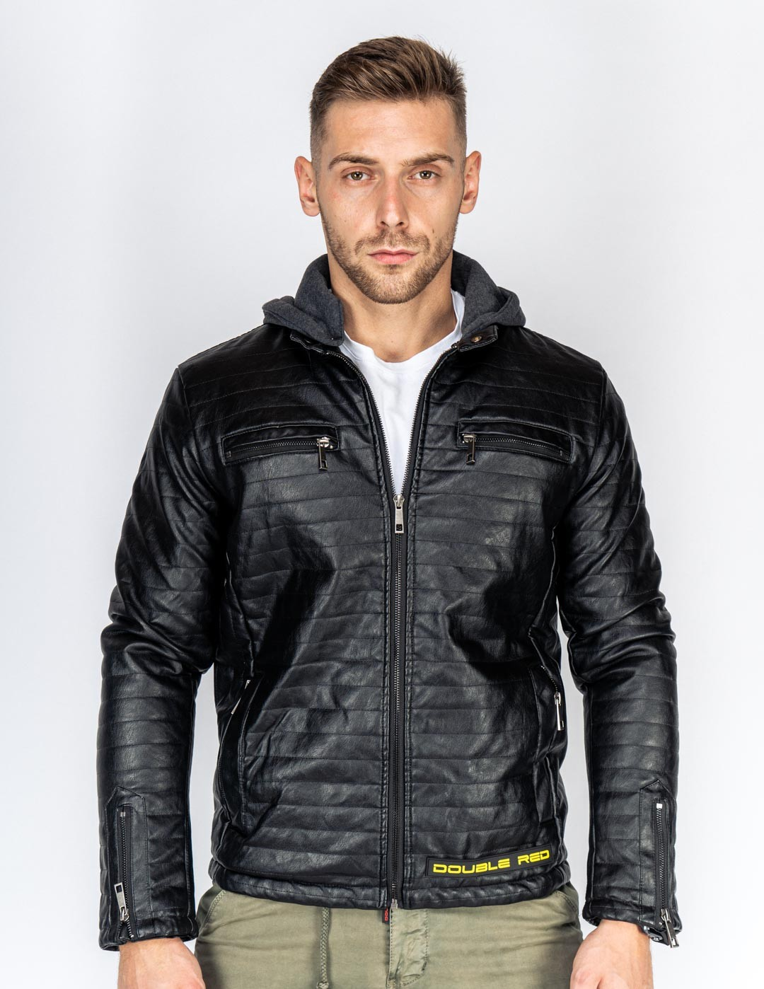 STREET HERO Leather Jacket