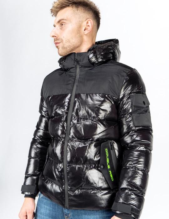 SUPERSONIC 3D Logo Winter Jacket Black
