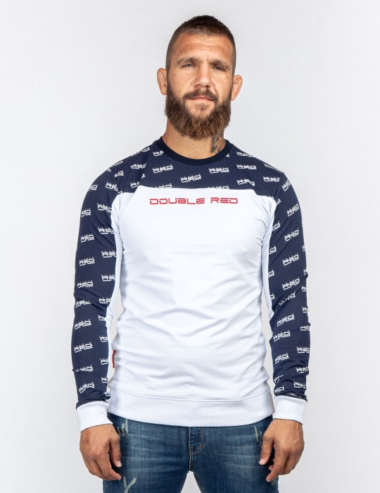 Sweatshirt UTTER FULL LOGO Blue