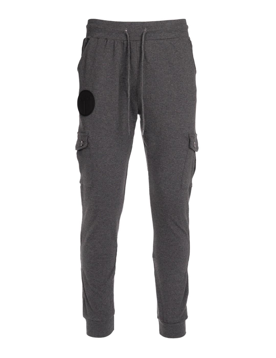 Sweatpants Side Pocket Grey