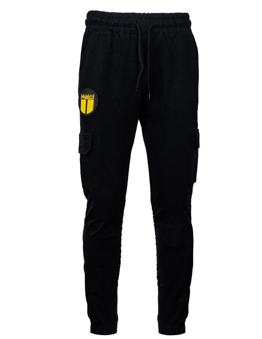 Sweatpants ARMADEN Side Pocket Black