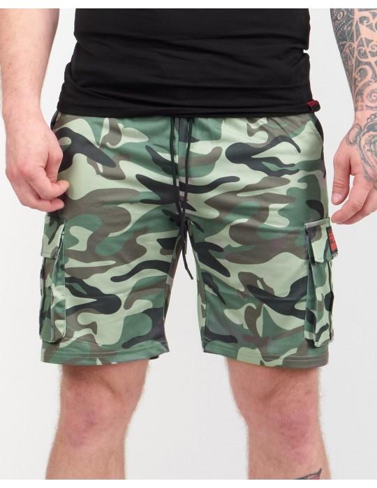 SOLDIER Shorts Light Green Camo