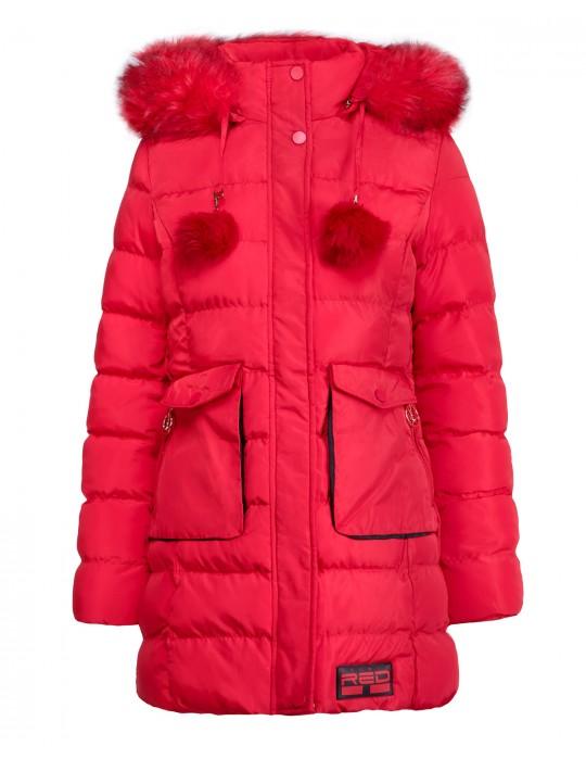 ALYESKA Winter Jacket Red