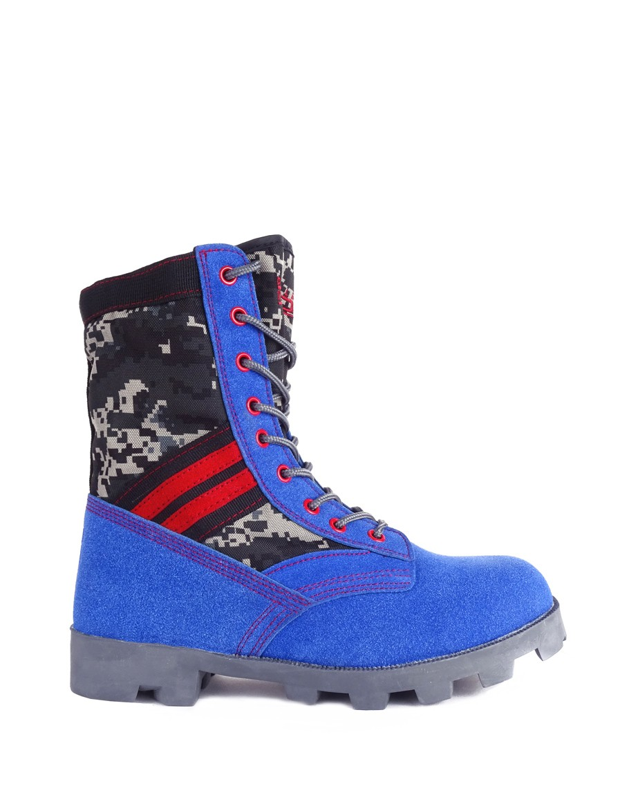 Boots Grey/Blue Crazy Army Color
