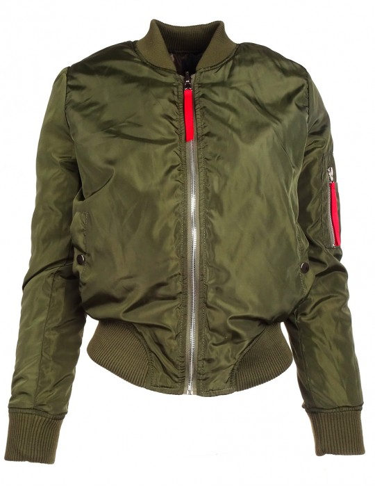 Limited DR W Flight Jacket Green