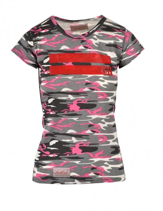 T-shirt Pink Stripe