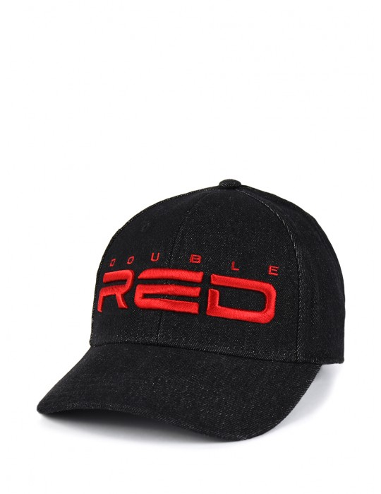 DOUBLE RED REDJEANS 3D Embroidery Logo Cap Black 8ce4267753