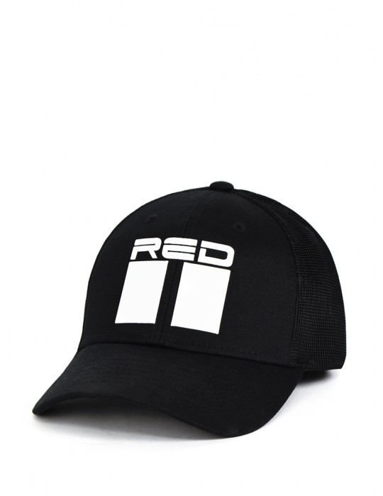 DOUBLE RED Airtech Mesh 3D Logo Cap Black
