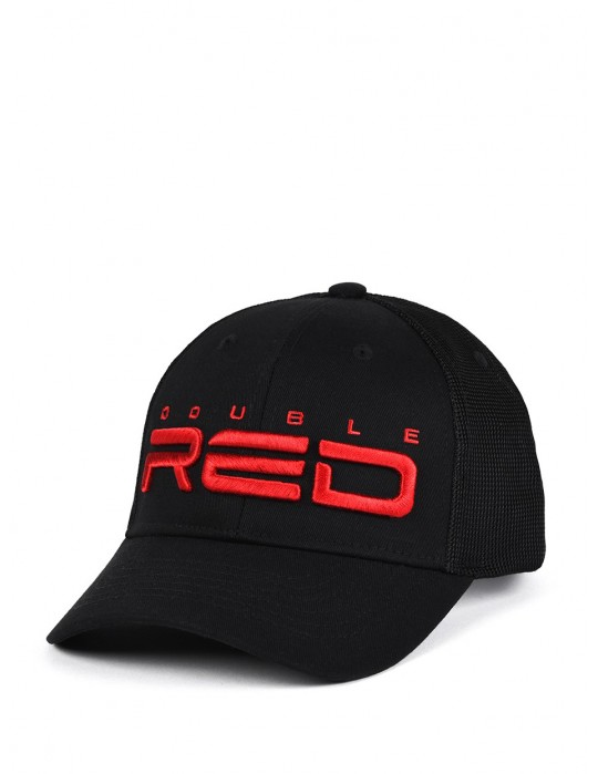 DOUBLE RED Airtech Mesh Cap Black d2ce2eeebf