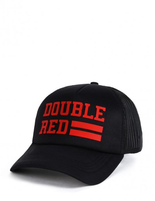 Sapkák UNIVERSITY OF RED Black/Red