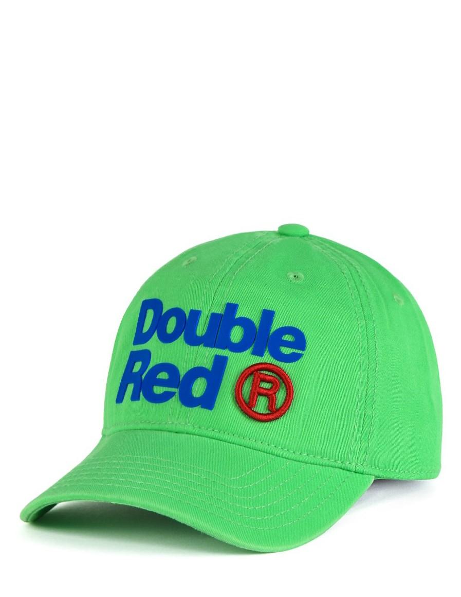 DOUBLE RED Trademark Trucker Cap Green
