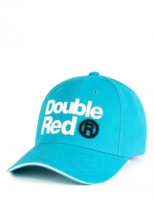 DOUBLE RED Trademark Trucker Cap Turquoise