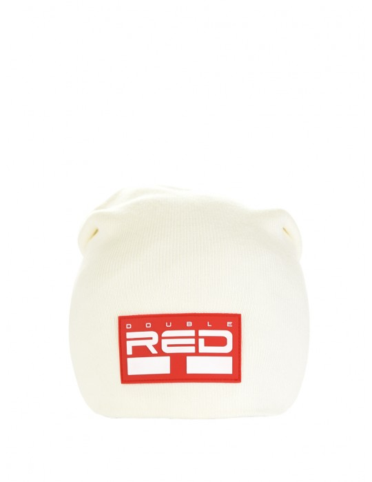 DNA RED BEANIE White