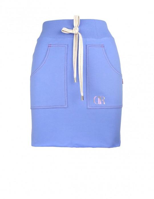 DR BlueDressCode tepláková sukňa