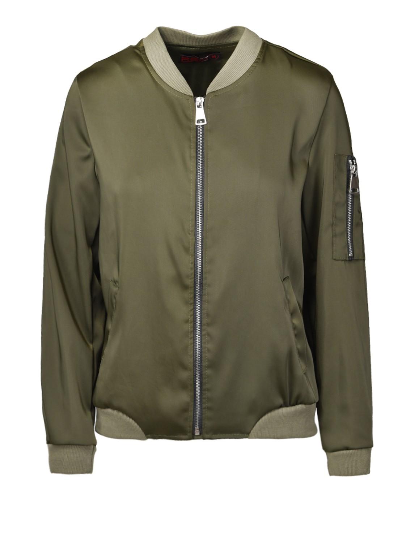 Flight Jacket Olive