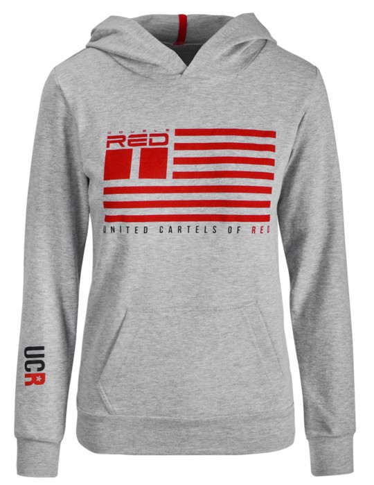 United Cartels Of Red UCR Red/Grey Hoodie
