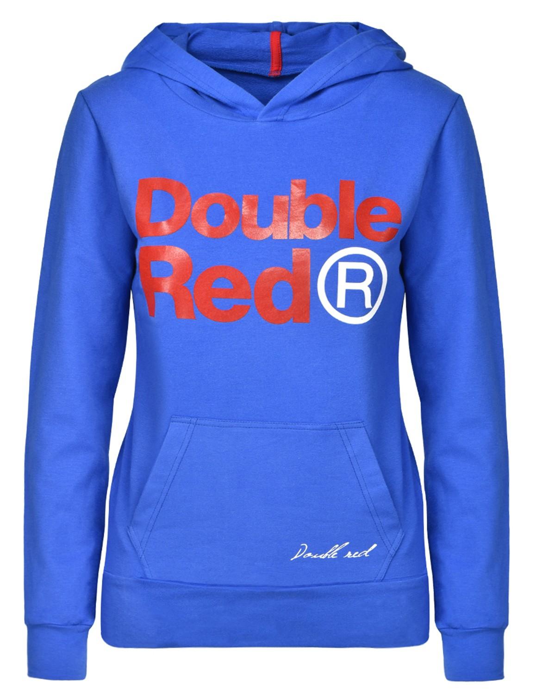 DOUBLE RED Trademark Sweatshirt Blue