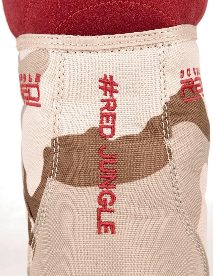 Boots Red Jungle Desert Camo