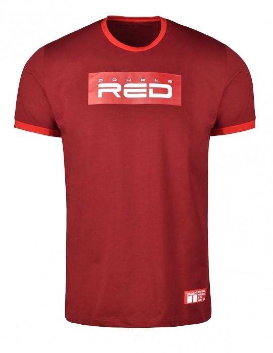 T-Shirt LOGO VISION Bordeaux