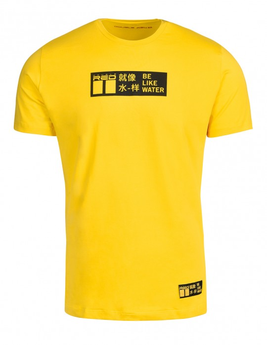 T-shirt KUNG FU Master Yellow
