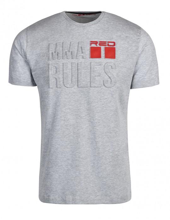 T-Shirt MMA RULES White