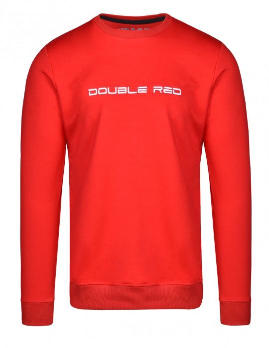 ELEGANCE Red/White Sweatshirt
