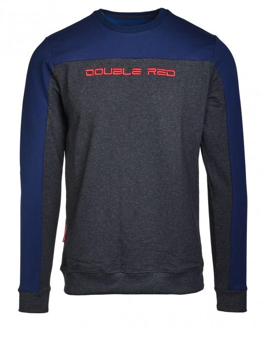 Sweatshirt UTTER Black/Blue