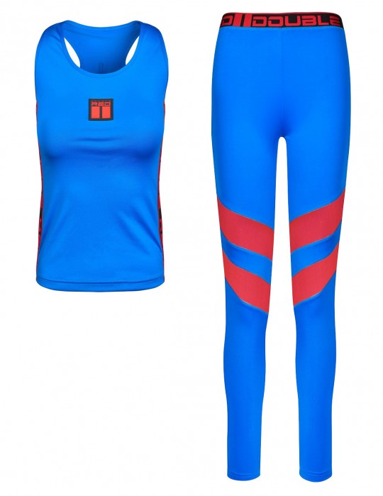 Fitness suit SPORT IS YOUR GANG PRO AIR TECH Blue
