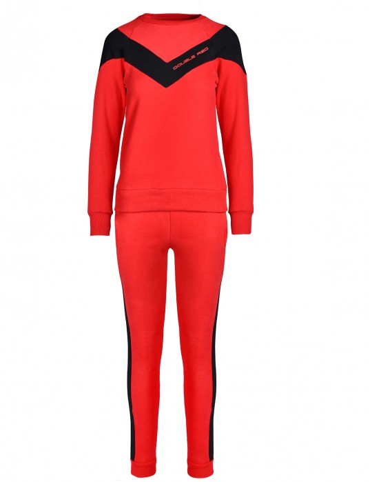 Tracksuit MÉRIBEL Red