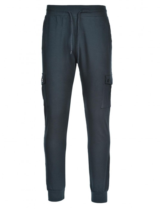 Sweatpants Side Pocket Blue