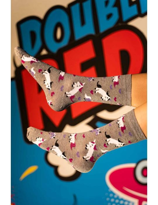 DOUBLE FUN Socks Pinky World