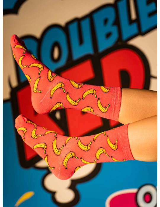 DOUBLE FUN Socks ThugLife Banana