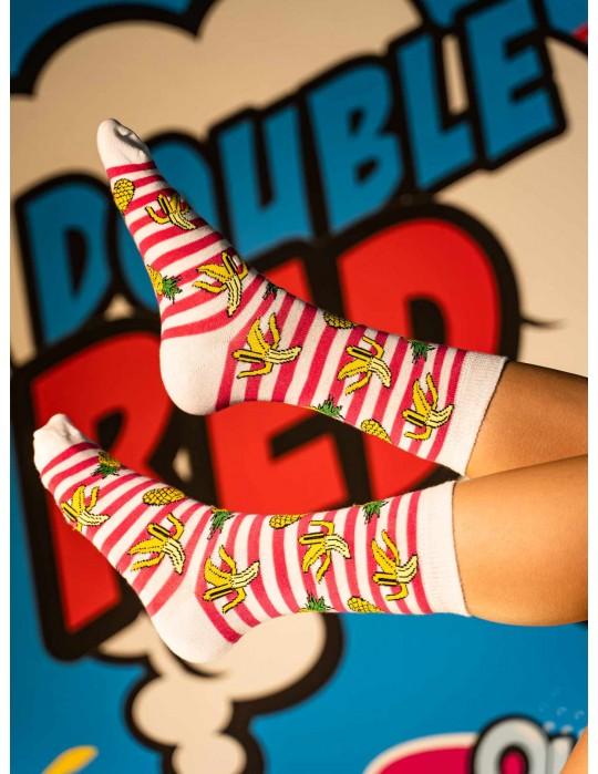 DOUBLE FUN Socks Havana