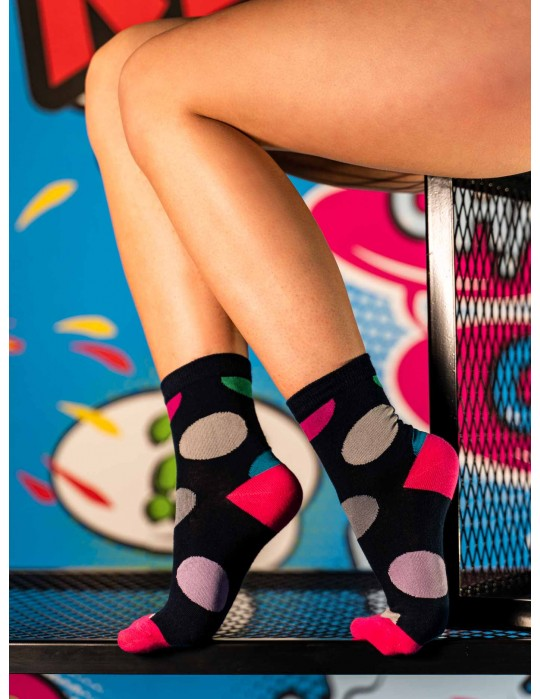 Women's FUN Socks Bubles